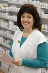 Peggy Cox, R. Ph., Staff Pharmacist