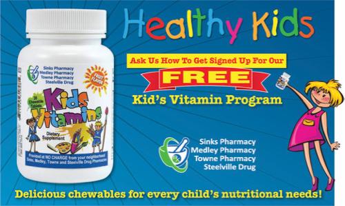 Free Kids Vitamin Program,