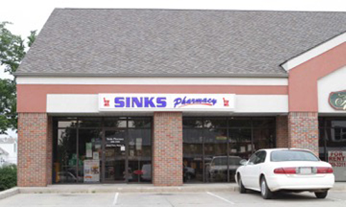 Sinks Pharmacy in Belle, MO Store Front