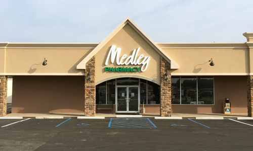 Medley Pharmacy in Owensville Store Front