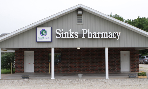 Vienna – Sinks Pharmacy,