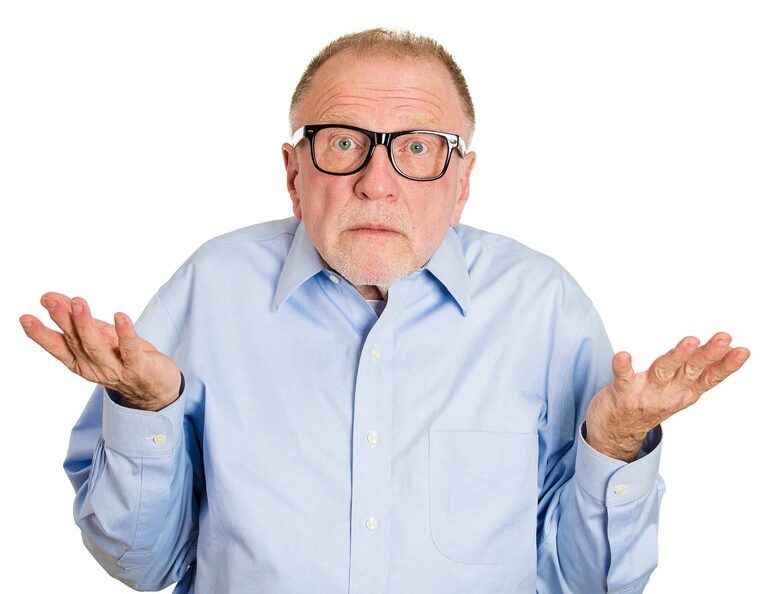 confused man on Medicare Part D plans